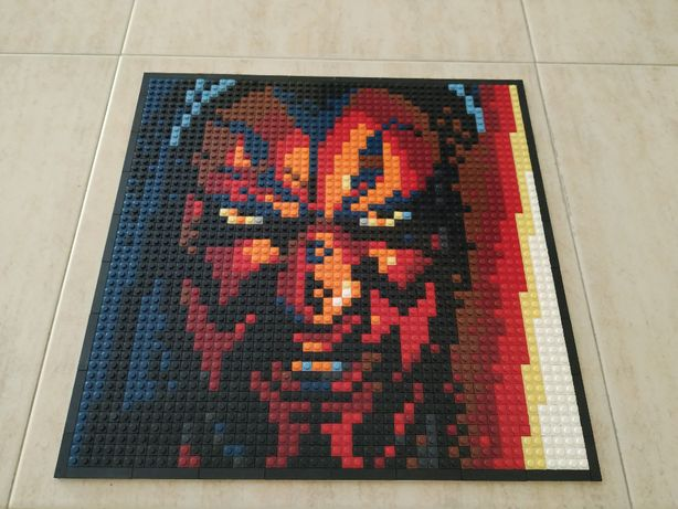 Mosaico Star Wars The Sith Darth Maul 40cmx40cm