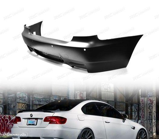 PARÁ-CHOQUES TRASEIRO LOOK M3 / BMW E92 E93 COUPE/CABRIO / 06-14 COM PDC