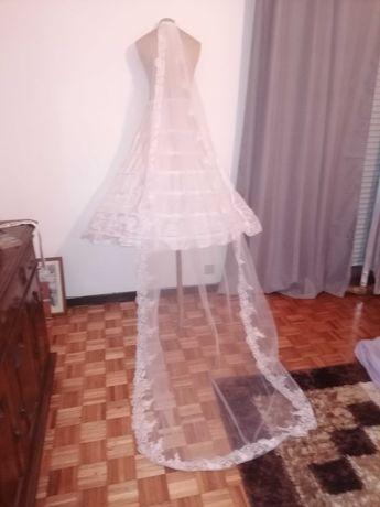 Véu de noiva.. Usado só na igreja