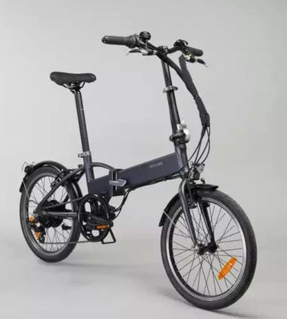 Bicicleta elétrica Btwin Dobrável