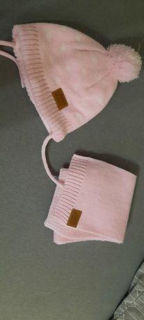 Czapka z szalikiem na zimę