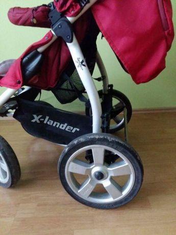 Wózek X-Lander XA gondola+spacerówka