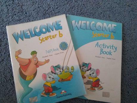 Учебник и тетрадь по английскому языку WELCOME starter b