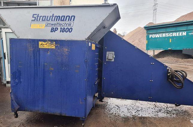 Linia do recyklingu aluminium puszek/ prasa zgniatarka prasowarka PET