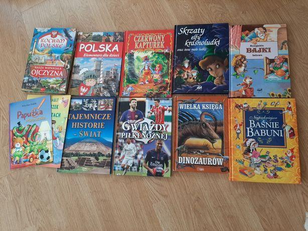Zestaw Kocham Polskę, bajki dla dzieci, gwiazdy piłki nożnej i inne