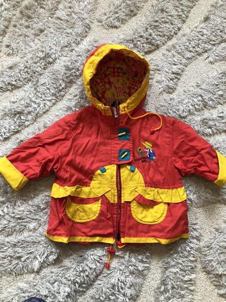 Курточка - плащ, 82 см, Польша