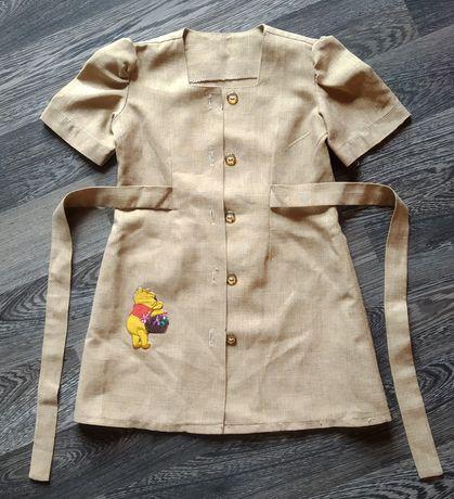Prześliczna słodka sukienka dla dziewczynki, ok. 3-5 lat