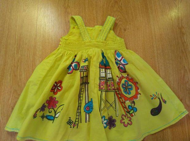 Śliczna sukienka next r.6-9 miesięcy 74