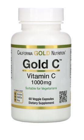 Витамин С , 1000мг,  60 капсул