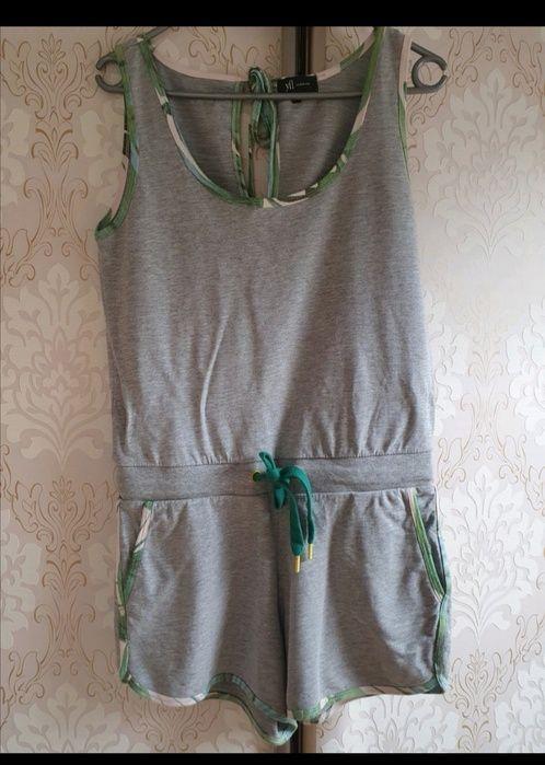 Kombinezon Reserved dresowy szary łezka spodenki bluzka szorty Kielce - image 1