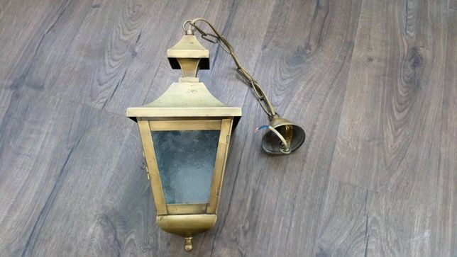 Lanterna em Latão