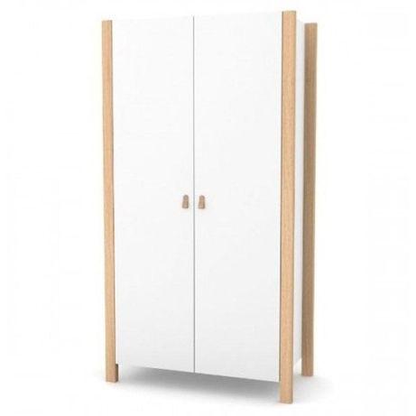 Шкаф Верес Монако (960мм), цвет бело-буковый