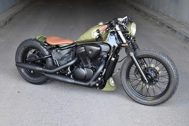 Honda Shadow Maverick Custom Bobber Cafe 600 cc vt xv ybr