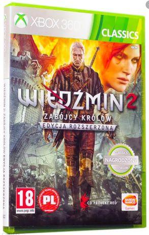 Gra na Xbox 360 Wiedźmin 2: Zabójcy królów PL