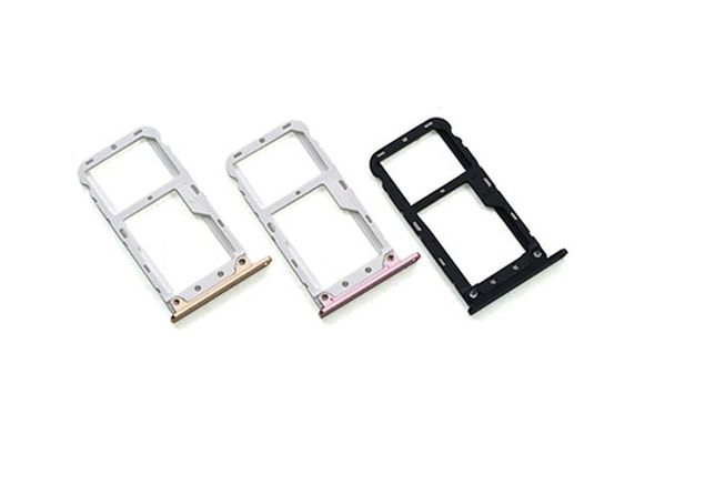 Gaveta cartão SIM para Xiaomi MI A1 - Preto, Dourado e Rosa