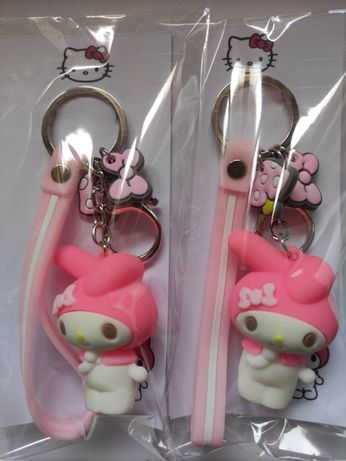 Porta chaves Hello Kitty Melody Cinnamoroll Keroppi