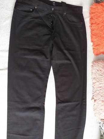 Czarne spodnie męskie H&M roz.36