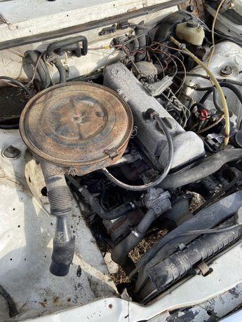 Silnik skrzynia mercedes w123 2.4d 1977 OM616
