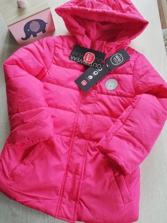 Kurtka płaszczyk Coolclub 116 kolor róż nowa 55zł