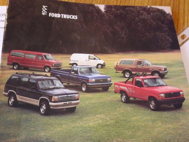 prospekt ford trucks 1991
