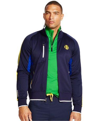 145$ Ekskluzywna Bluza Kurtka męska Polo Sport by Ralph Lauren rozm M