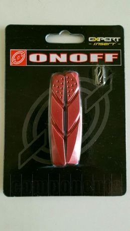 Recarga 2 calços de travão brake onoff expert