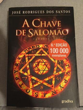 Livro: 'A chave de Salomé'