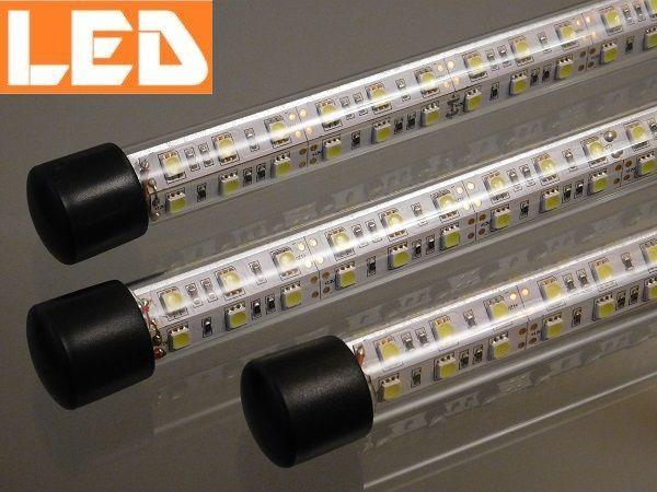 Dodatkowa lampka LED do akwarium! GLASS LED 7W-30W. Nowość!
