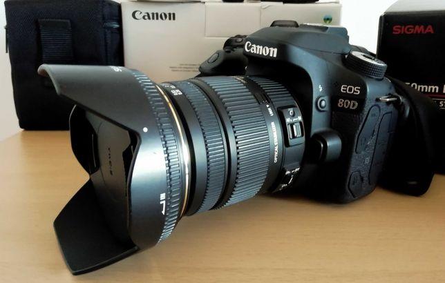 Canon 80D + Sigma 17-50 F2.8