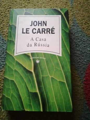 Livro 'A casa da Rússia' de John Le Carré