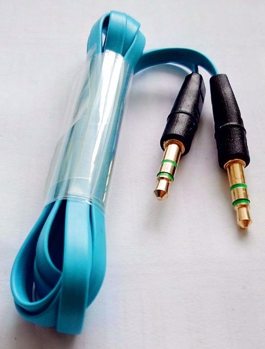 Качество 3.5 мм 1 м Aux штекер стерео аудио кабель аудіо кабель разъем Нововолынск - изображение 1