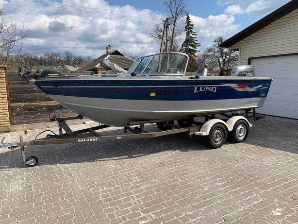Продам катер LUND 1700 Fisherman 2006 г.в.