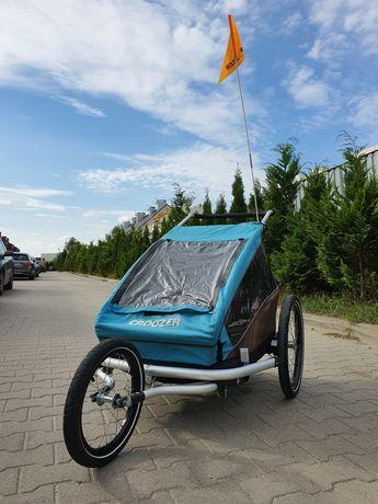 Croozer przyczepka rowerowa, wózek biegowy 3w1 cruzer amortyzacja