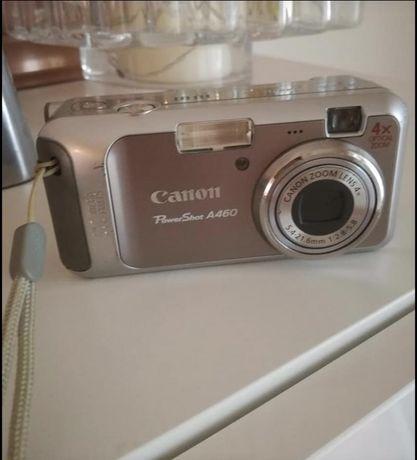 Máquina fotográfica Canon PowerShot A460, com bols