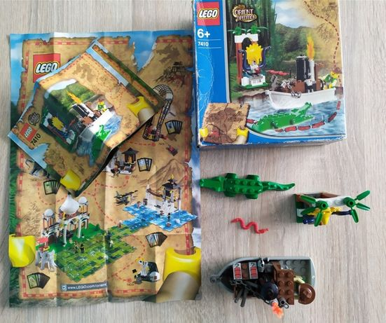 Lego - 7410 - Jungle River (Orient Expedition)