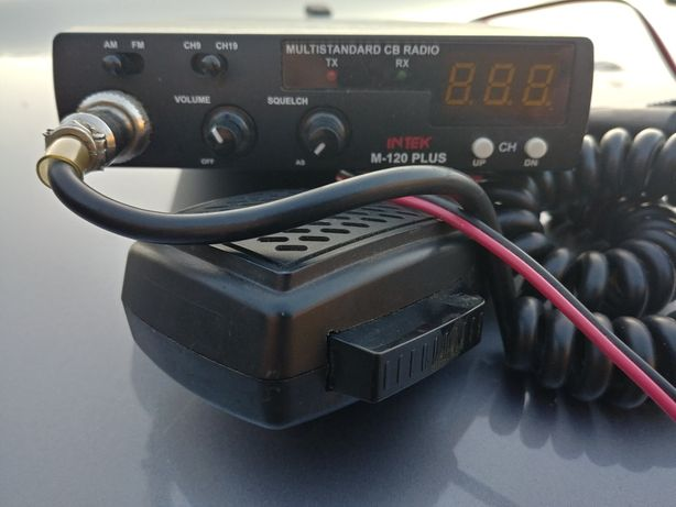 Sprzedam malo używane cb radio intek.