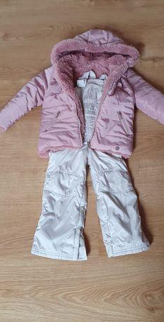 Kombinezon kurtka i spodnie r.104-116