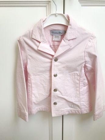 Джинсовая куртка Dior. 4 года. Оригинал.