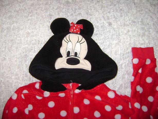 Myszka Miki piżama 122/128 cm Mickey MOUSE ciepła piżamka