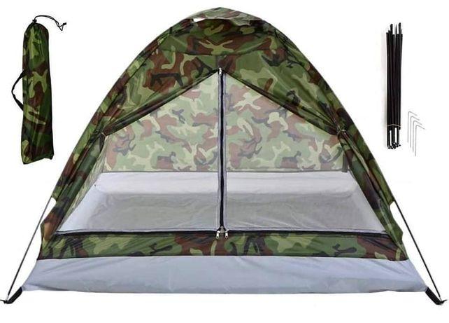 Namiot Turystyczny 3 Osobowy Moro Moskitiera 175x175cm