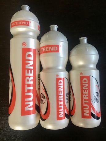 Bidon Nutrend zestaw 3 bidonów na rower na siłownię nowe nieużywane