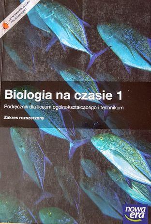 Biologia na czasie 1. Zakres rozszerzony. Nowa Era, podręcznik nowy.