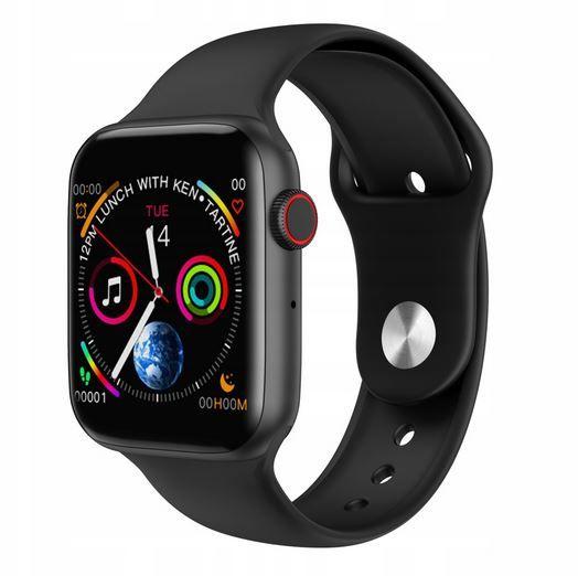 PROMOCJA! Zegarek SmartWatch Series 4 POŁĄCZENIA EKG do iPhone Androi Kraków - image 1