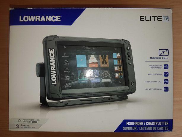 Lowrance Elite Ti2,  9 cali, 3in1