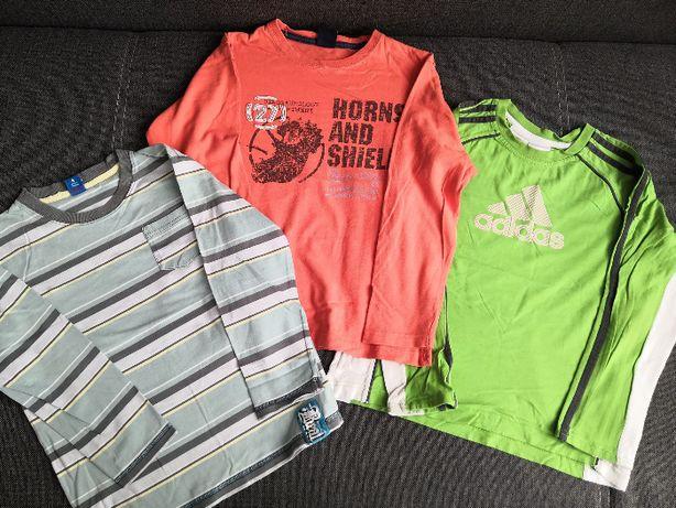 Bluzka t-shirt rozm 128, 134, adams, adidas , cactus clone