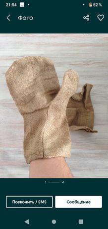 новые верхонки варежки перчатки рабочие