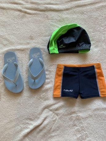 Conjunto natação, 3 peças