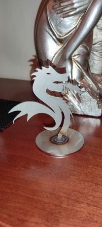 Estatueta Dragão em ferro