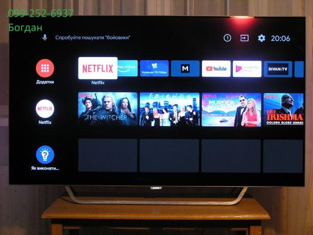 Телевізор Oled,Smart,Ahdroid,4K Philips 55POS9002/12