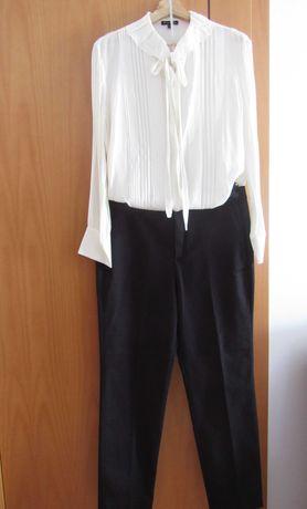 Blusa reservada, Maximo Dutti, calça e blusa tamanhos 42